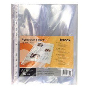 Lefűzhető genotherm FORNAX A/4 Maxi víztiszta 90 mikron 50 db/csomag